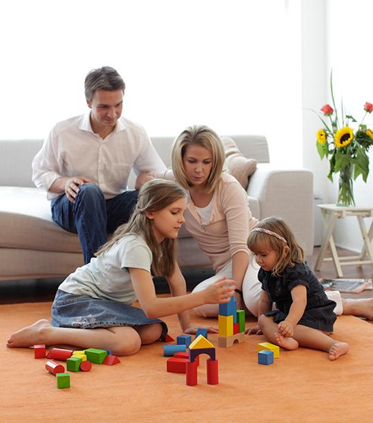 Wohnzimmer_Familie